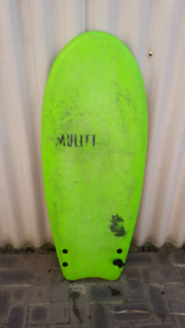 Mullet fat cat softop surfboard