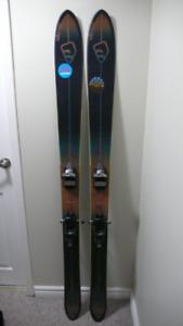 Salomon BBR 10 Skis - 177 cm with Marker Jester Bindings