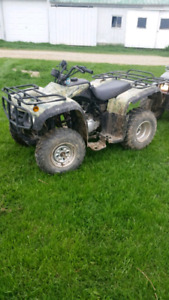 Wilderness trail 250 atv for sale