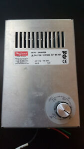 Small 240V Electric Heater with Built-In Thermostat