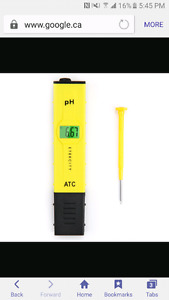 Looking for ph meter  wanted