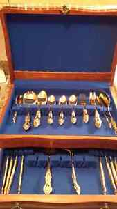 Complete 54 piece Gold Plated RoyaleSealey London Ontario image 3