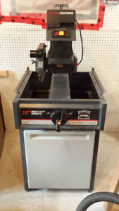 "10"" Radial Arm Saw with stand"