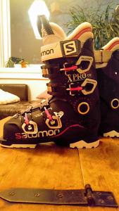 Bottes de ski Salomon XPro W X80 grandeur 23.5
