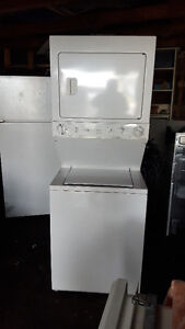Stackable  washer and  GAS dryer 150.00, Delivery available