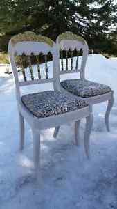 cutest vintage wood chairs ever! Gatineau Ottawa / Gatineau Area image 1