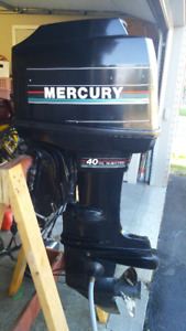 Mercury 40hp outboard