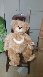 """Cottage Collectibles Stuffed Teddy Bear """"Wuzzy"""""""