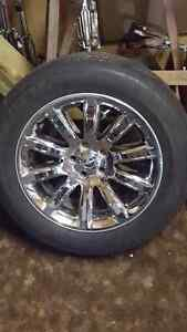 300C Rims and Tires - MINT 10/10 CONDITION