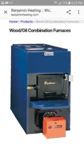Looking for a wood/oil forced air furnace