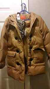 Ladies womens down winter jacket