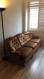 Sklar-Peppler Couch - Brown 3 seater - Good Condition - $55