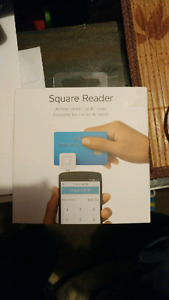 Square credit card reader cell phone accessory