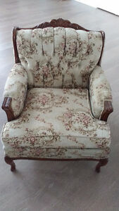 French Provincial Antique sofa and Chair