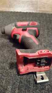 Milwaukee Tools 18v Lithium Ion   Selling seperately  Impact is