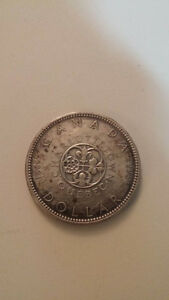 1864-1964 Charlottetown Quebec Silver Dollar