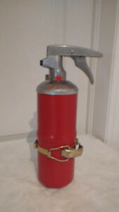 unique treasures house, vintage fire extinguisher