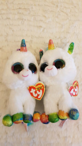"Set of two TY Beanie Babies - ""Pixy"""