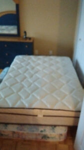 Double bed mattress for sale (the bed as an option)
