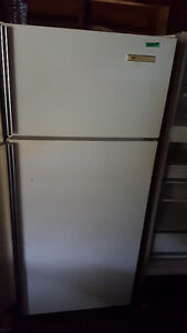 Fridge and electric stove 250.00, clean    ,I will separate them