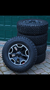 2017 Jeep Rubicon Hard Rock Edition Rim and tires -NEW