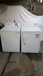 General Electric washer and Beaumark dryer - excellent condition