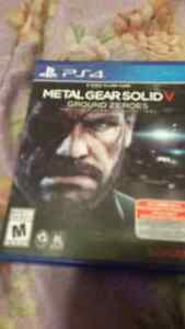 Metal gear Ground Zeroes  for ps4