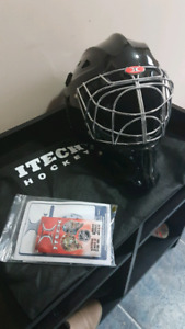 Itech profile 2500 brand new never worn goalie mask. FS OR TRADE