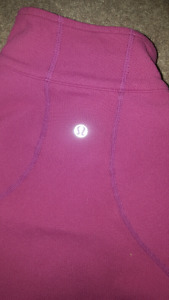 Lululemon fitted sweater
