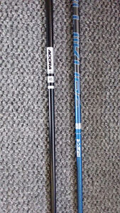 Shafts: Fujikura SIX XLR8, Accra ICWT 95 prototype 5 iron shaft