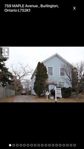 759 Maple Avenue - 3BR 1.5BA detached house in south Burlington