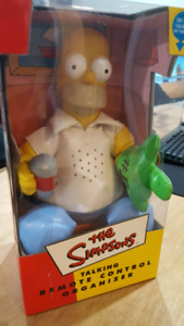 Vintage Simpsons Homer Simpson Talking Couch Coach Remote Holder