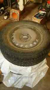 VW Jetta steel rims/winter tires
