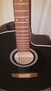 Beautiful Hand Crafted Art & Lutherie Acoustic Electric Guitar
