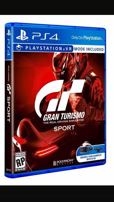 GRAN TURISMO SPORT PS4 🕹🕹🕹🕹