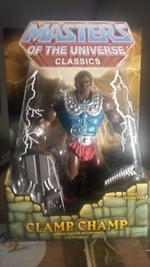MASTERS OF THE UNIVERSE CLASSICS-figurine CLAMP CHAMP