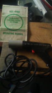 All pro ignition timing light and manual