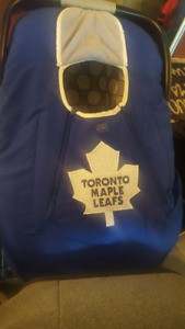 Toronto maple leaf baby car seat cover