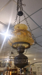 Vintage hanging lamp only $25
