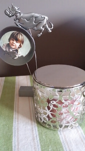 BRAND NEW SS CHILDS  FRAME and CANDLE
