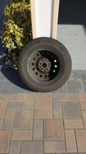 Set of 4 Firestone all season  205/70 R15 tires with rims