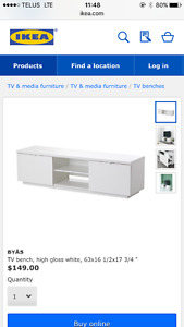 IKEA Media Stand, excellent condition