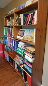 bookcases(book shelves)