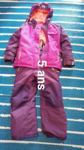 Manteau printemps + hiver + bottes filles