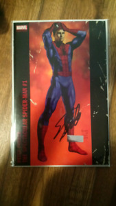 Spiderman comic autographed by Stan Lee