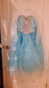 Elsa Costume with all the accessories from Disney Store