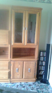 Solid Wood 5 piece cabinet