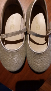 Gold Sparkly Dress Shoes