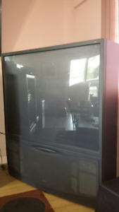 62 inch RCA HD ready tv.