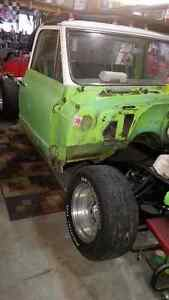 71 gmc Project, Rare Lime Green and White